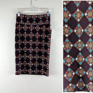 LuLaRoe Skirts - Ethnic Print LulaRoe Pencil Skirt